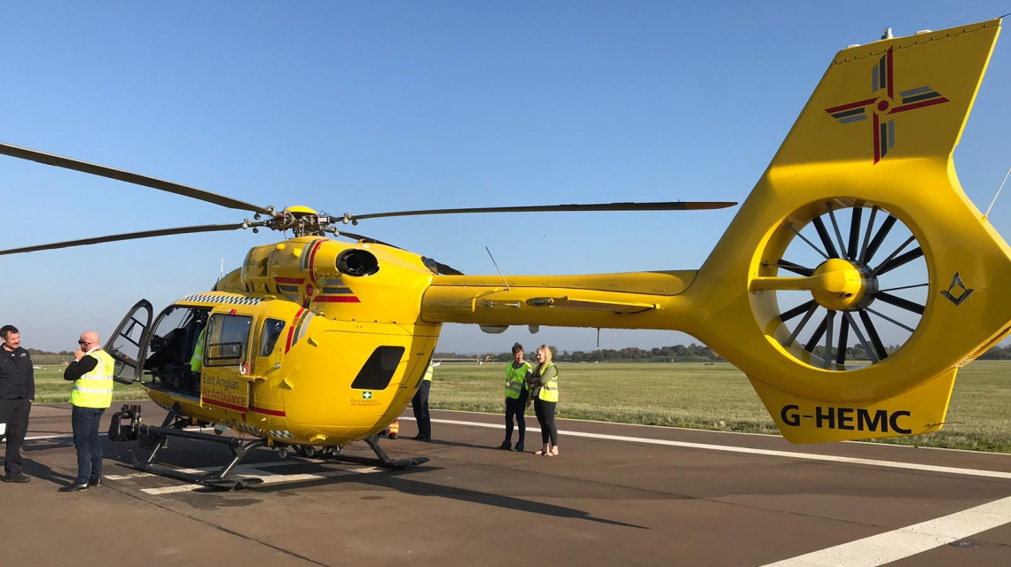 Behind the scenes at East Anglian Air Ambulance